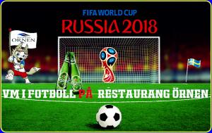 VM i Fotboll på Restaurang Örnen